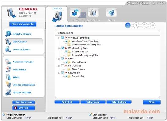 Comodo System Cleaner image 4