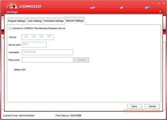 comodo time machine password recovery