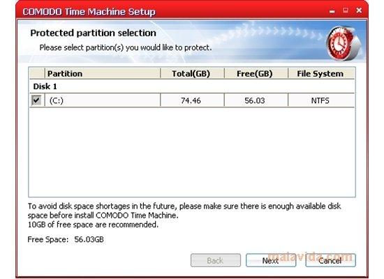 Comodo Time Machine 2.9.161985.187 - Descargar para PC Gratis