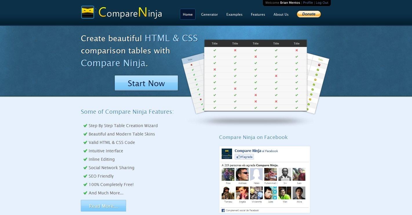 CompareNinja Webapps image 5