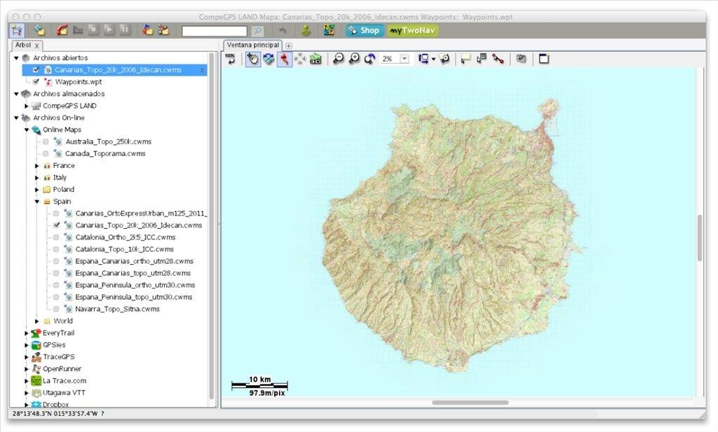 CompeGPS Land Mac image 6