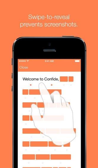 Confide iPhone image 5