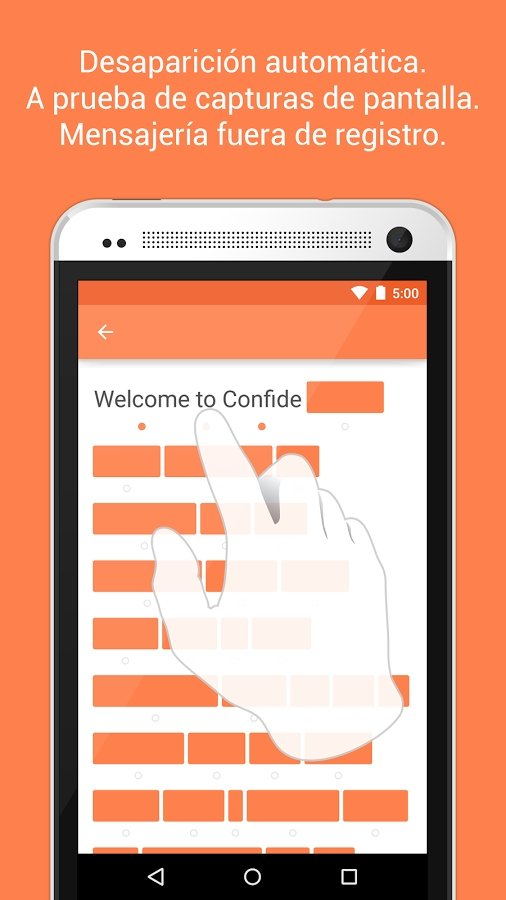 Confide Android image 5