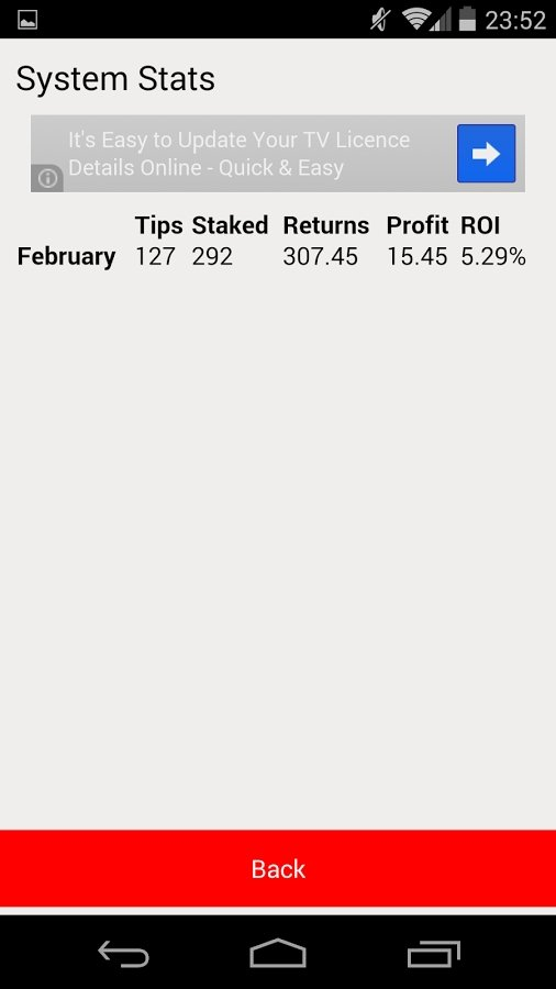 Soccer Betting Tips Android image 5