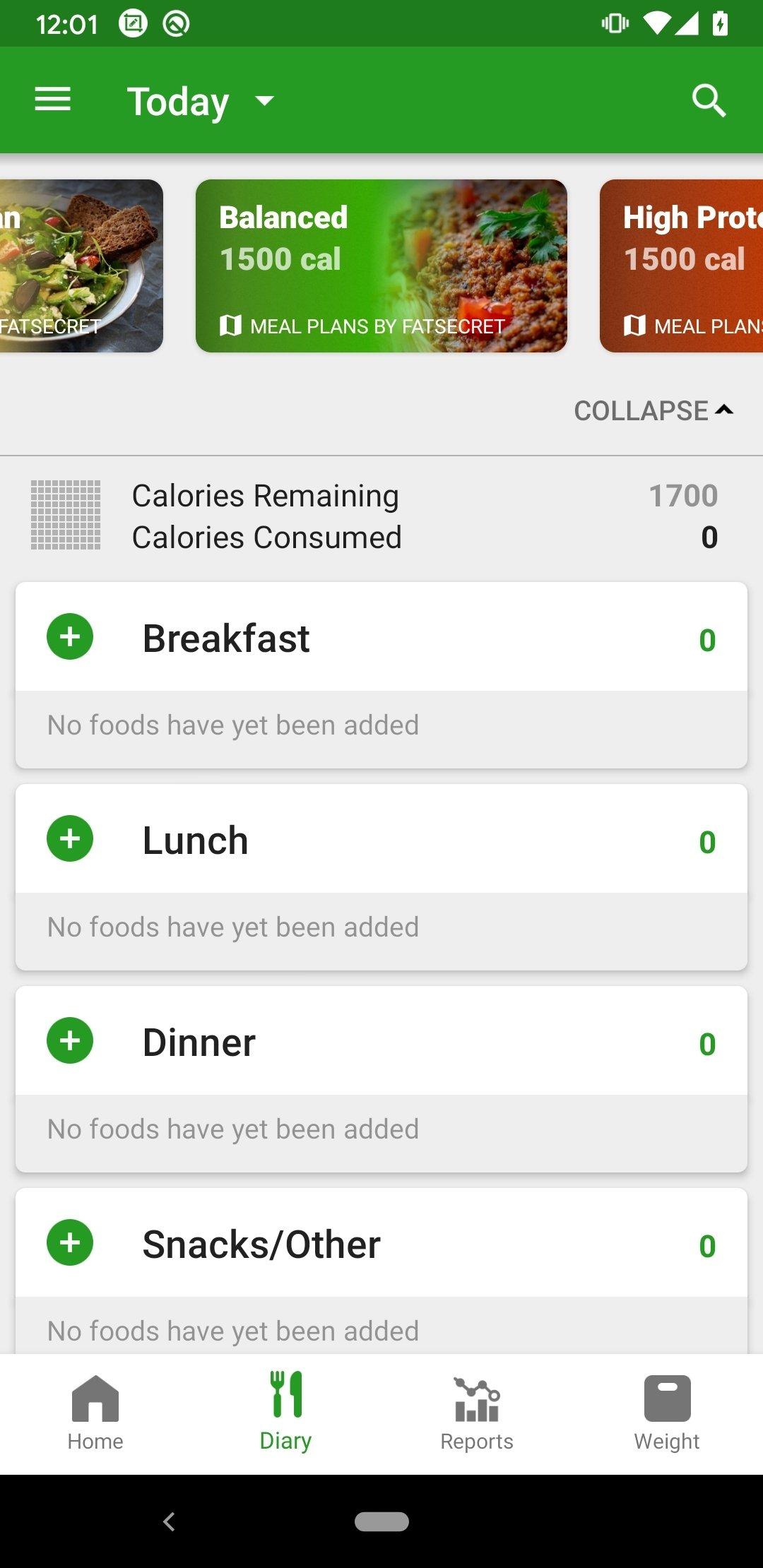 Compteur de Calories Android image 6