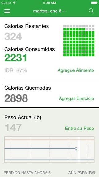 Compteur de Calories iPhone image 5