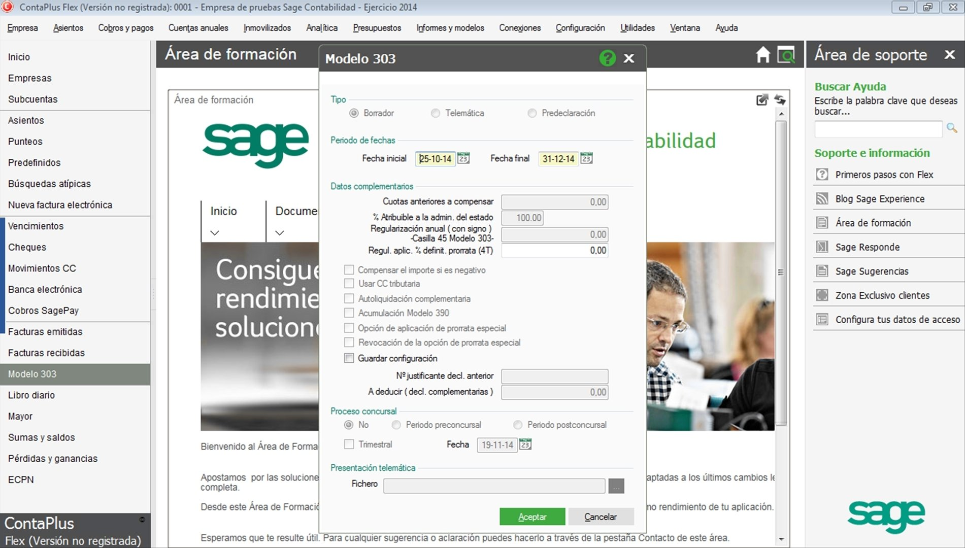 sp panel de gestion contaplus gratis