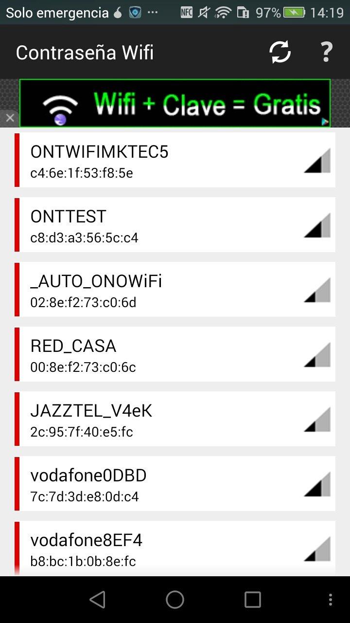 Contraseñas WiFi 5 0Final - Descargar para Android APK Gratis