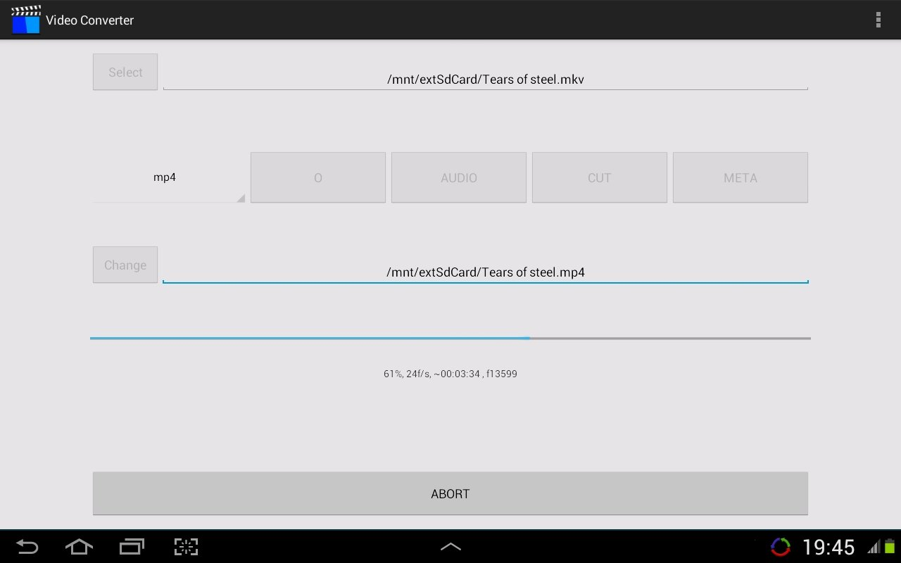 Video Converter Android image 5