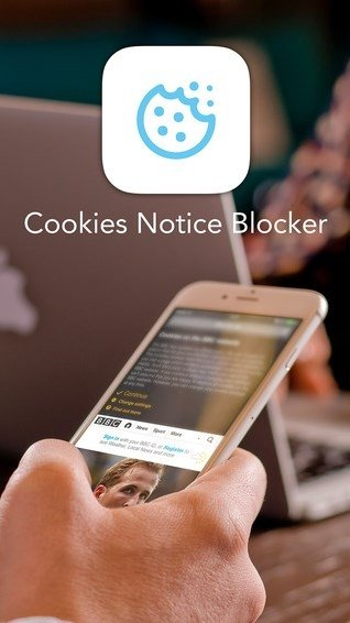 Cookies Notice Blocker iPhone image 1