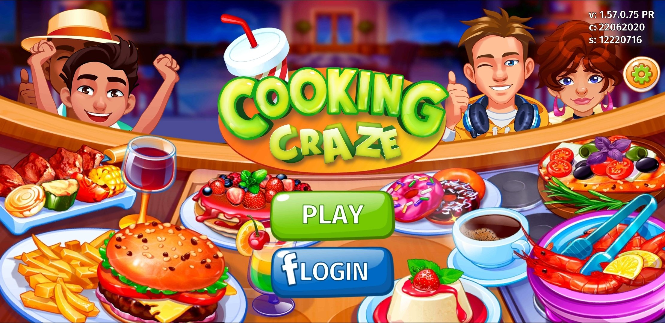 Cooking Craze 1 42 0 Telecharger Pour Android Apk Gratuitement