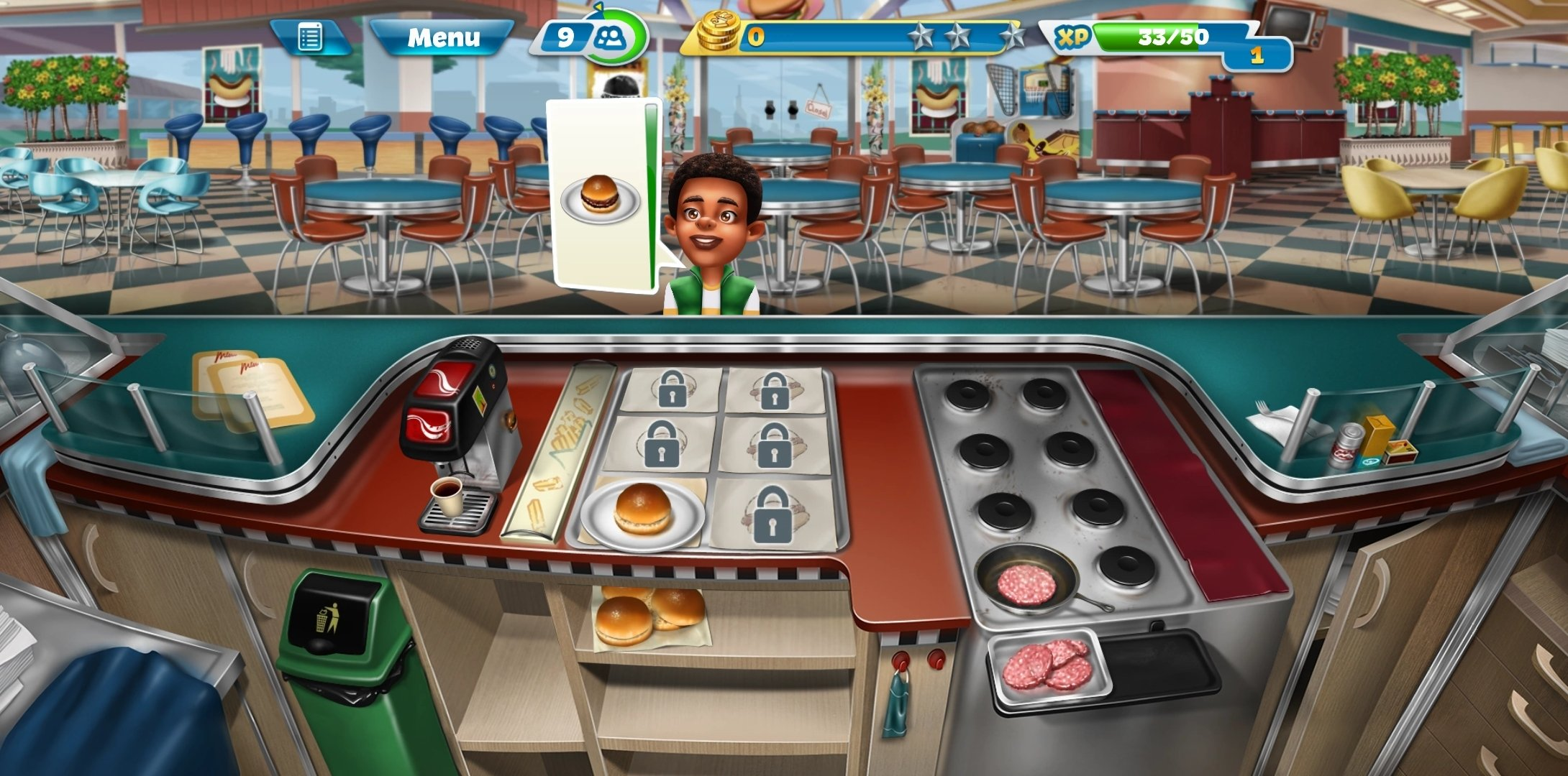 Cooking Fever Android image 6