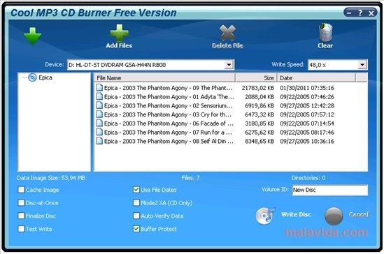 Cool MP3 CD Burner image 3