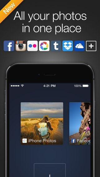 Cooliris iPhone image 4