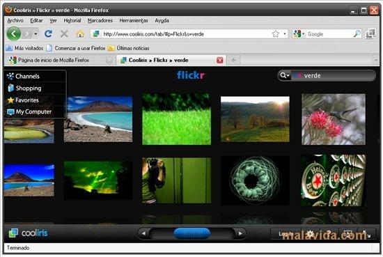 Cooliris Firefox image 4