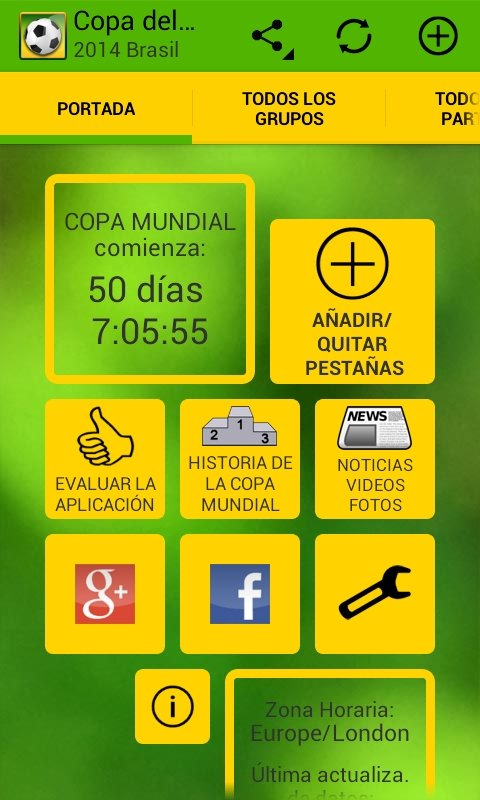 World Cup 2014 Brazil Android image 8