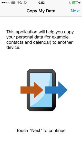 Copy My Data iPhone image 2