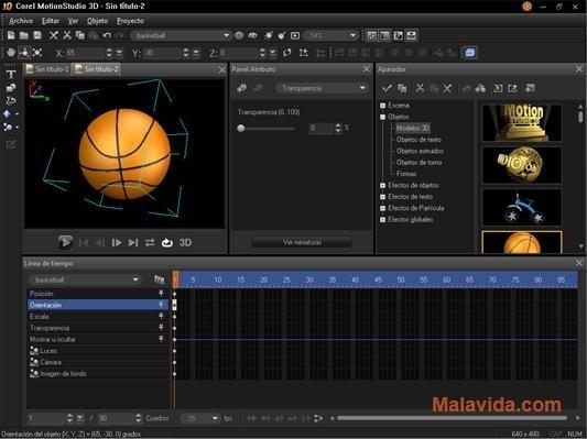Corel MotionStudio 3D image 5