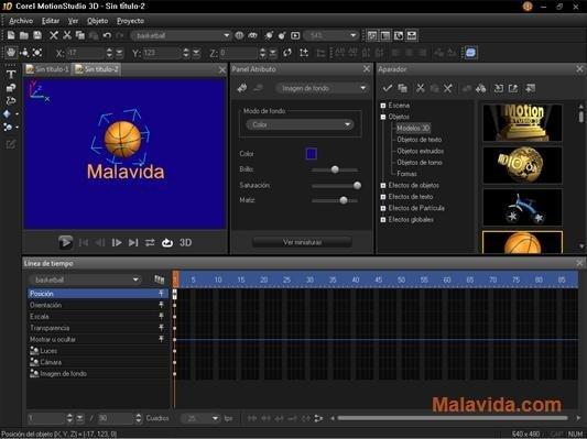 Corel MotionStudio 3D 1 0 0 252 - Download for PC Free