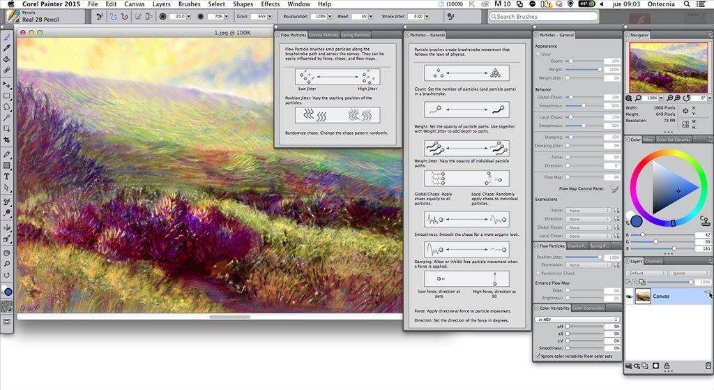 Corel Painter Mac image 4