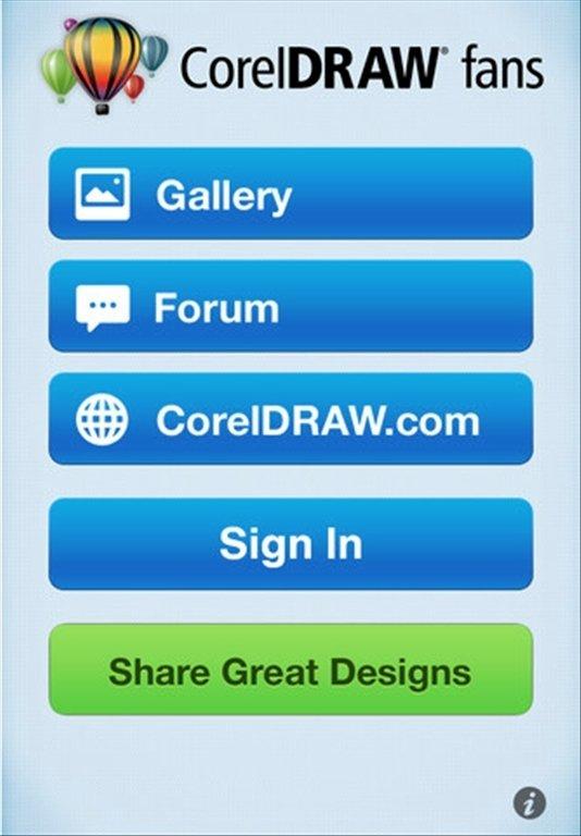 CorelDRAW Fans iPhone image 5