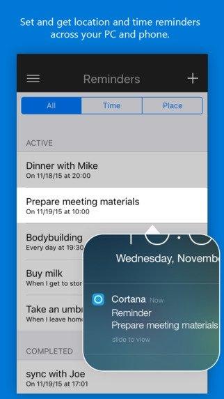 Cortana iPhone image 5