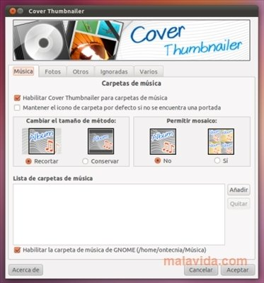 Cover Thumbnailer Linux image 4