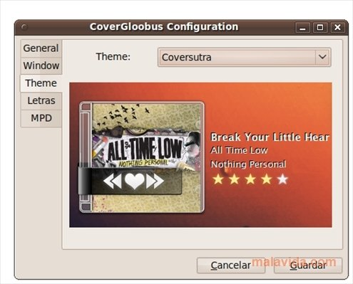 CoverGloobus Linux image 4