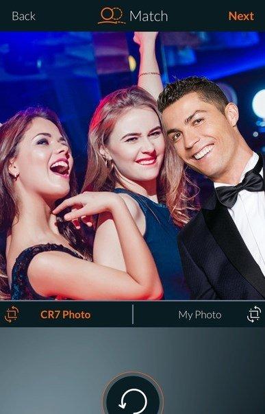 cr7 selfie gratuit