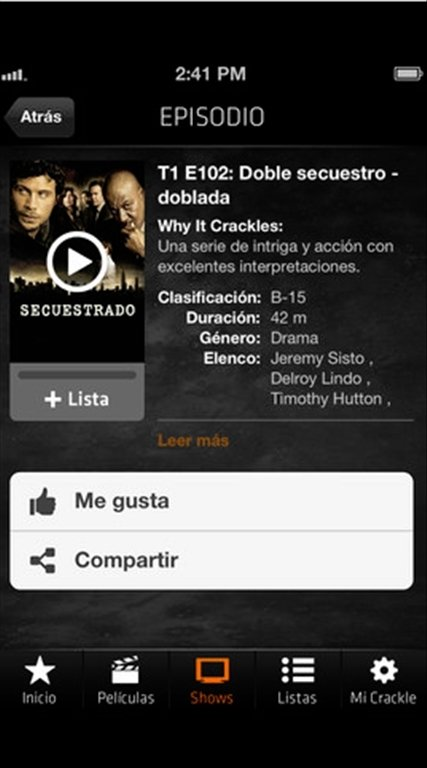 Sony Crackle - Download for iPhone Free