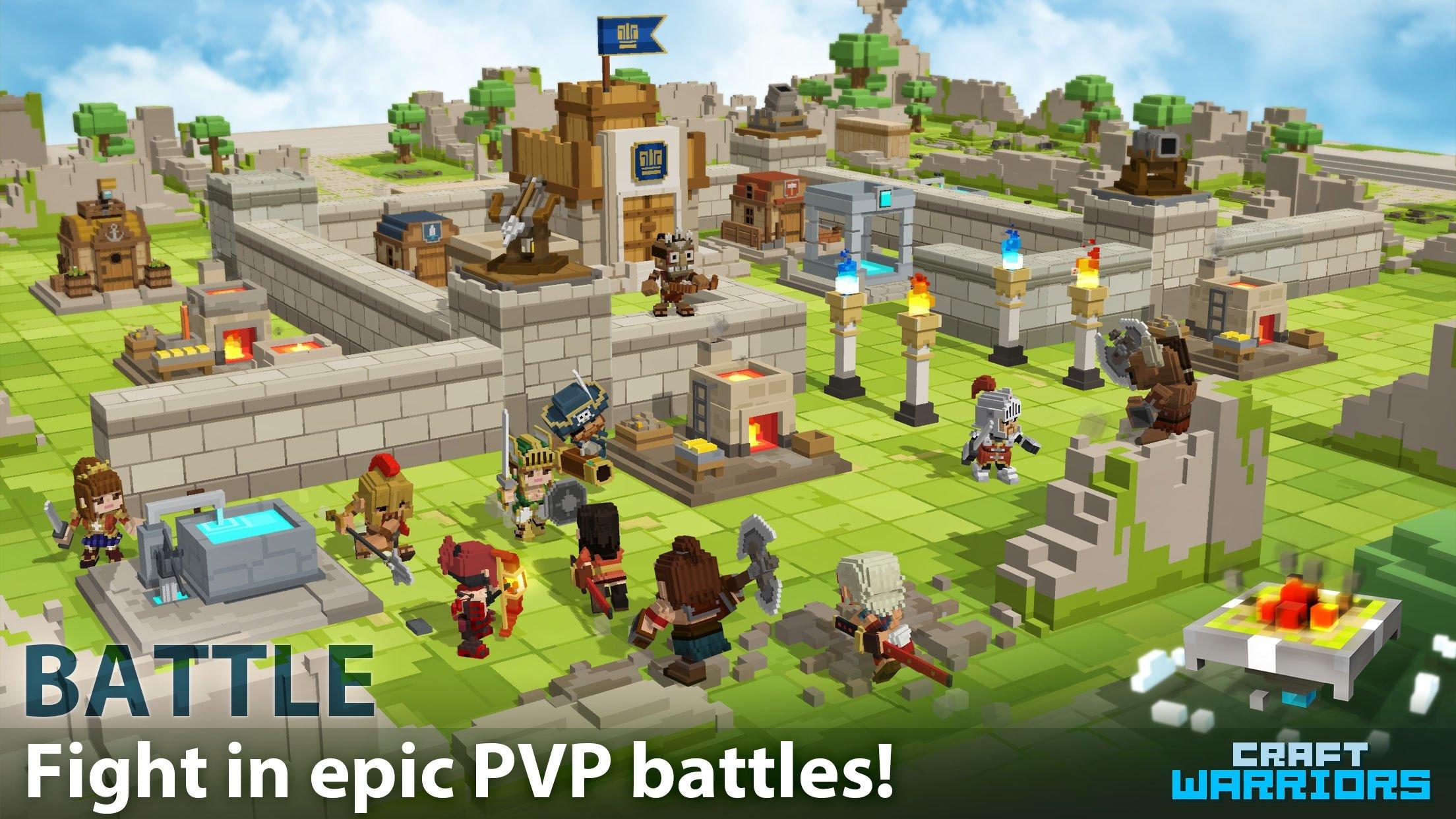 Craft Warriors Download Für IPhone Kostenlos - Minecraft pvp spiele