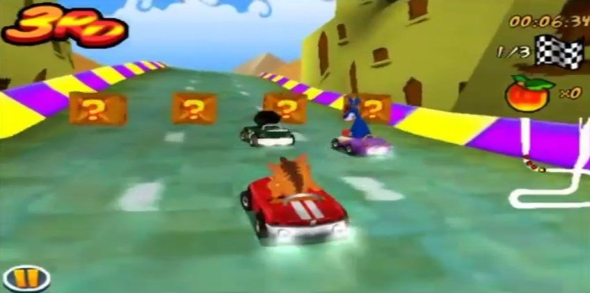 Crash Bandicoot Nitro Kart 3D iPhone image 5