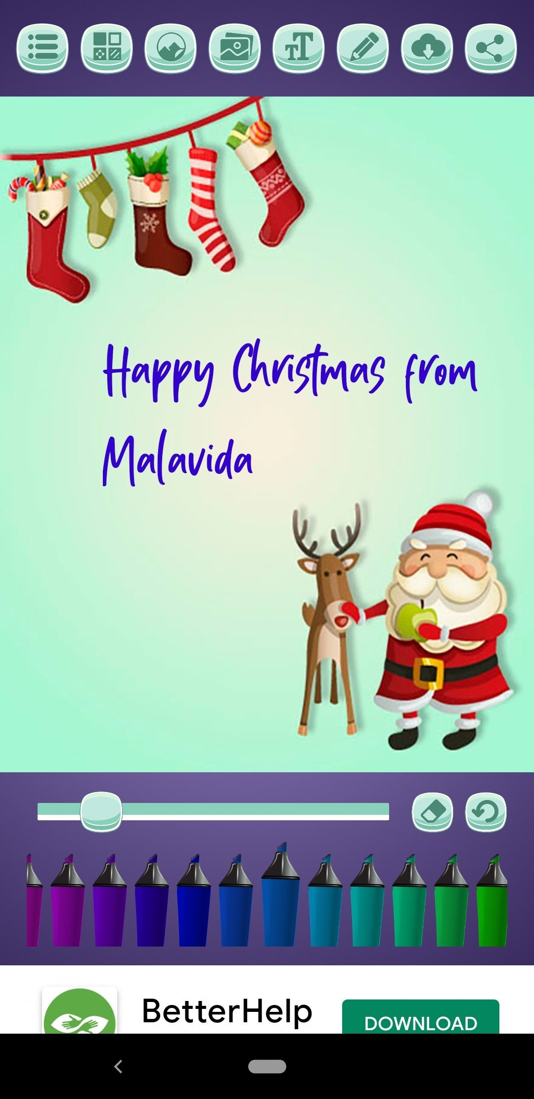 Create Christmas Cards Android image 5