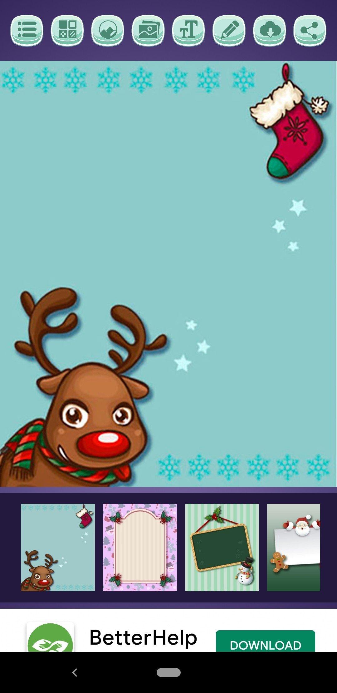 crea tarjetas navideas imagen thumbnail
