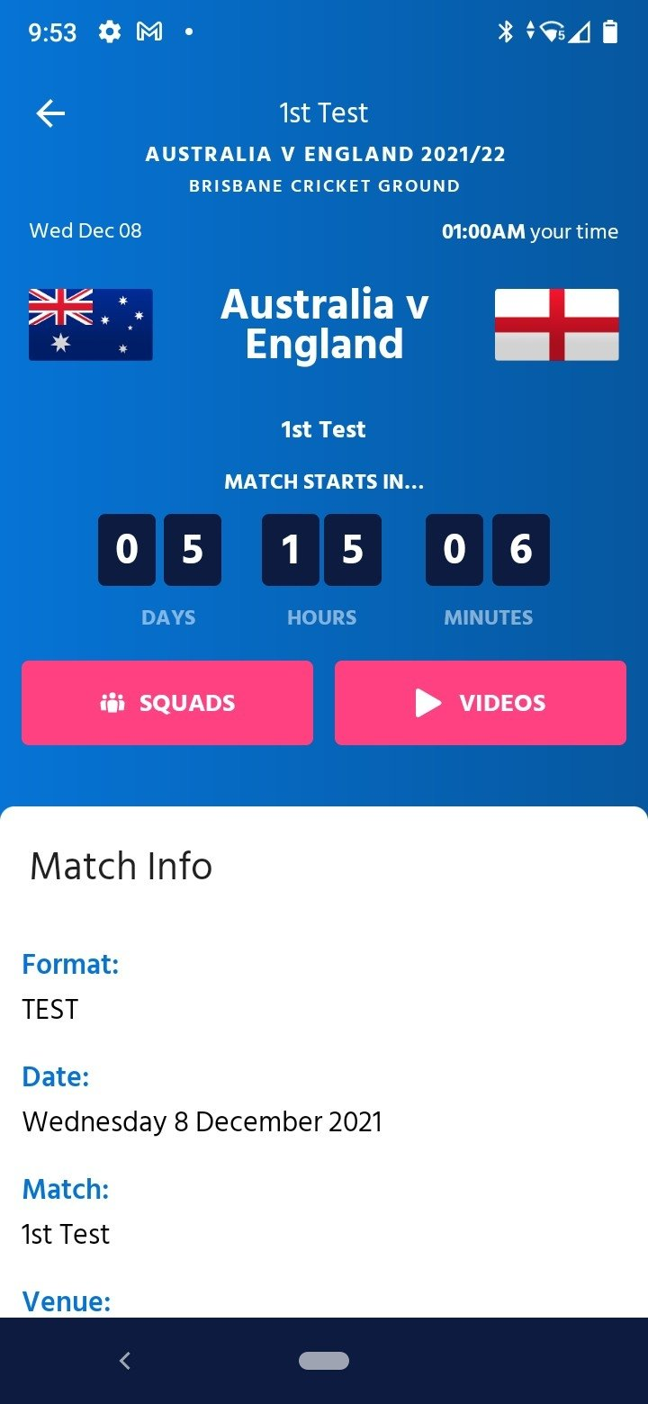 ICC Cricket World Cup 2019 4 3 3 2236 - Download for Android APK Free