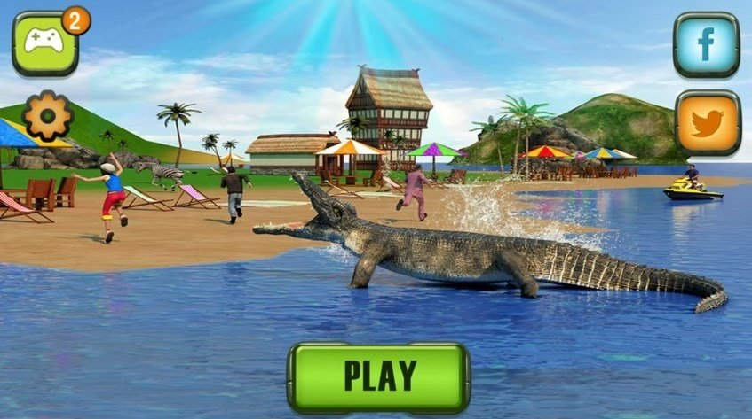 Crocodile Attack Android image 5