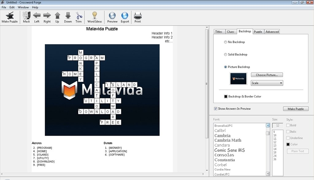 Crossword Forge 7 3 Download For Pc Free