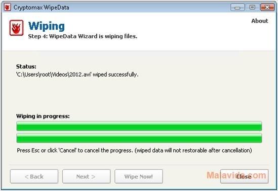 Cryptomax WipeData image 7
