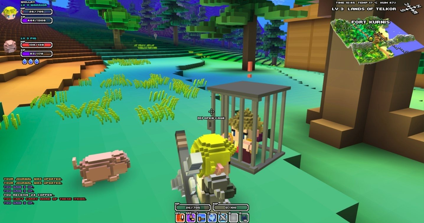 cube world play free no download