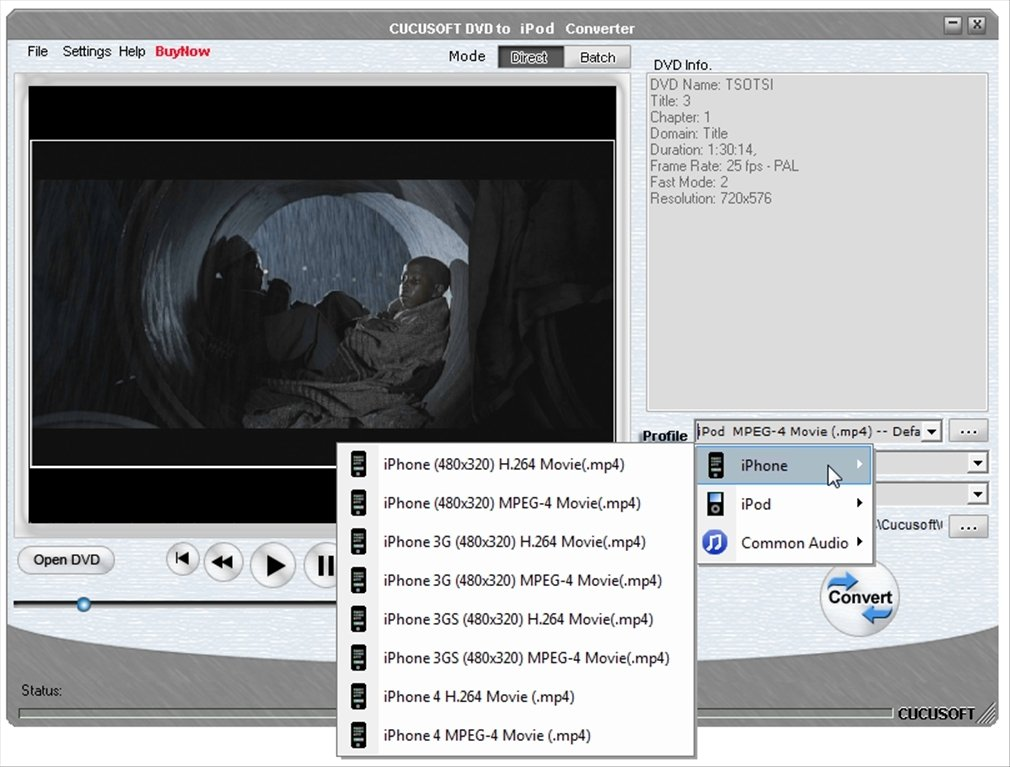 Cucusoft DVD to iPod Converter image 7
