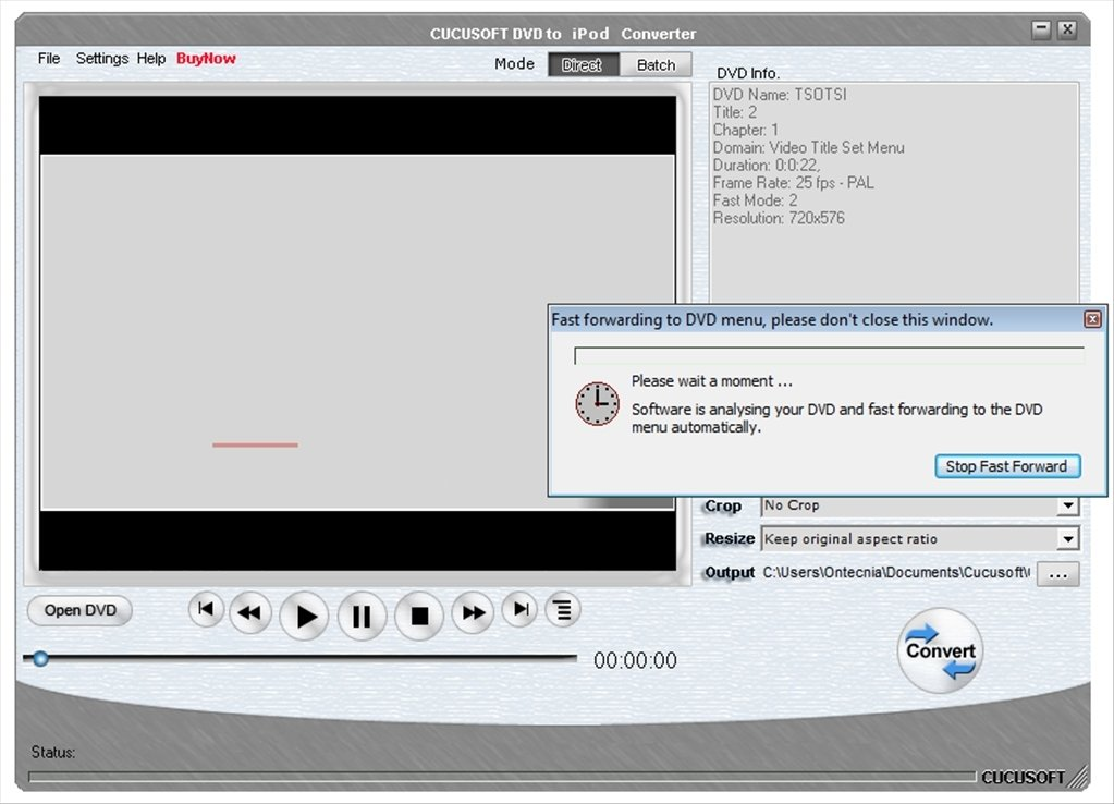 Cucusoft dvd to ipod converter suite latest