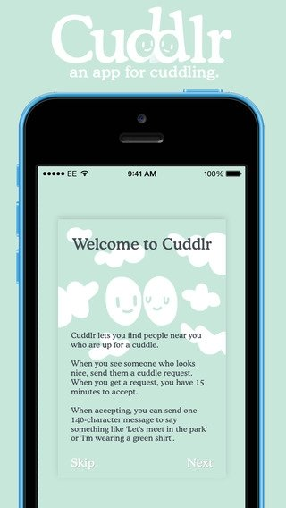 Cuddlr iPhone image 5