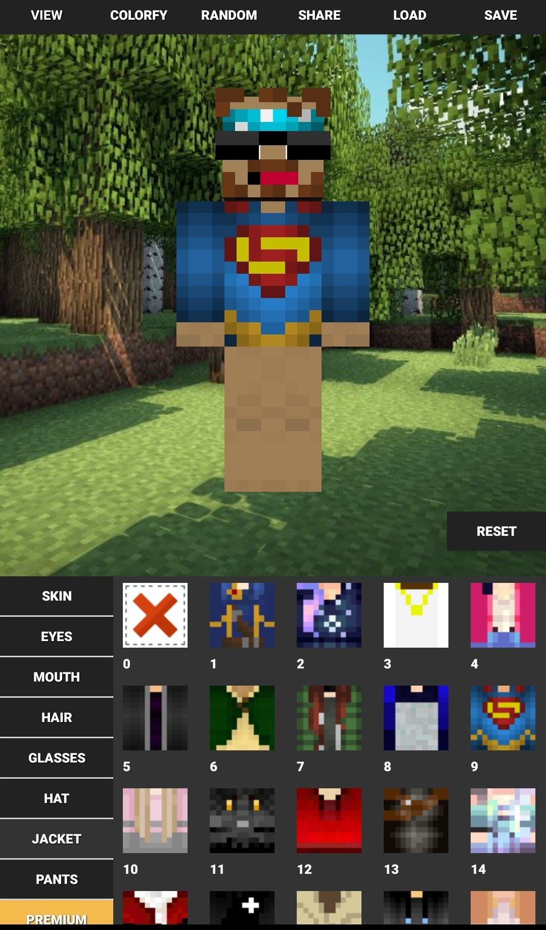 Custom Skin Creator For Minecraft 12.3 - Descargar para