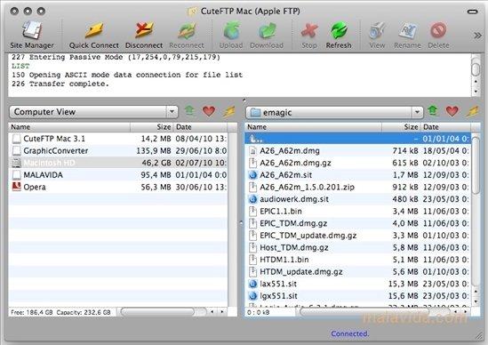 CuteFTP Mac image 4