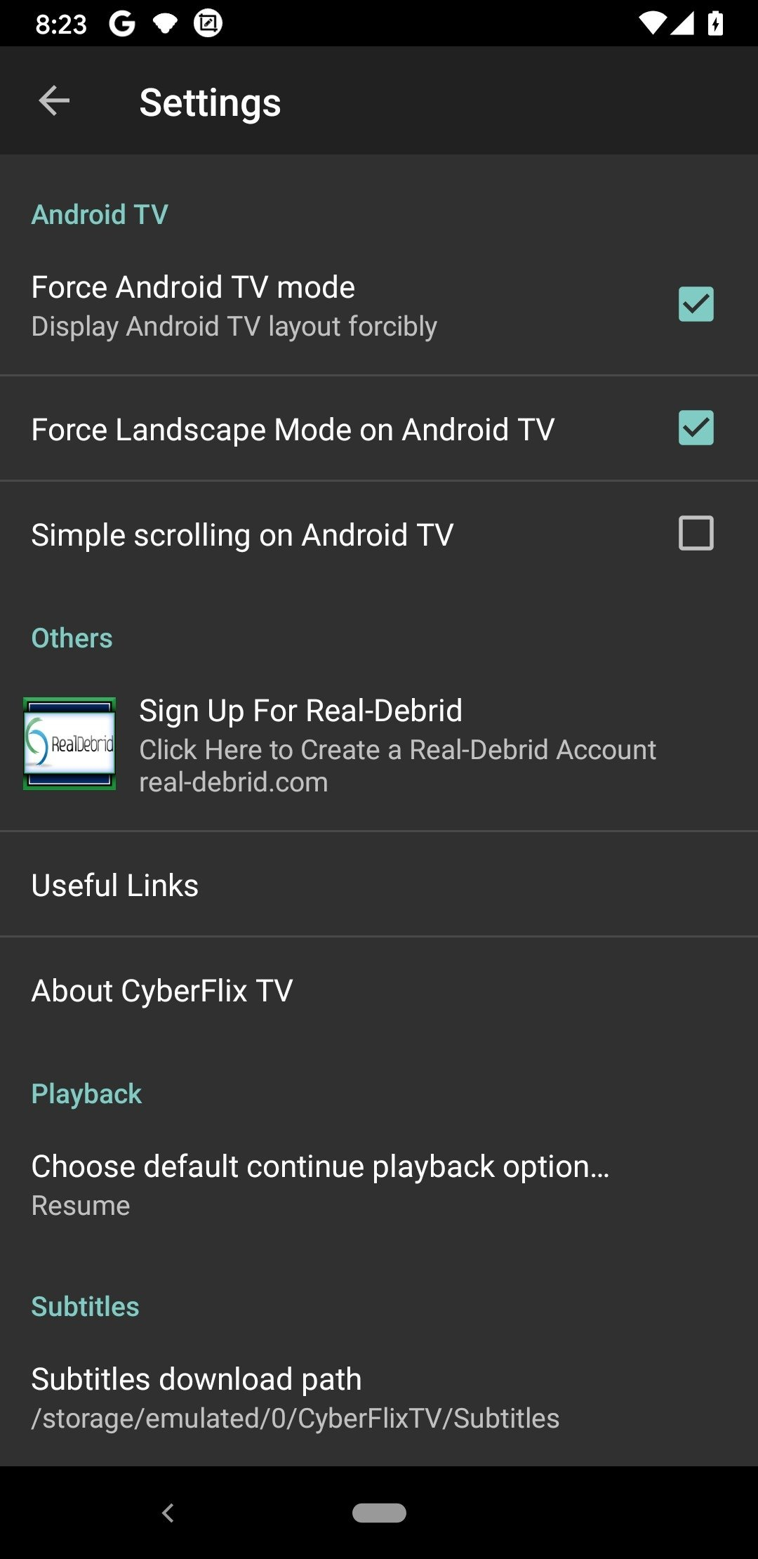 CyberFlix TV 3 1 9 - Download for Android APK Free