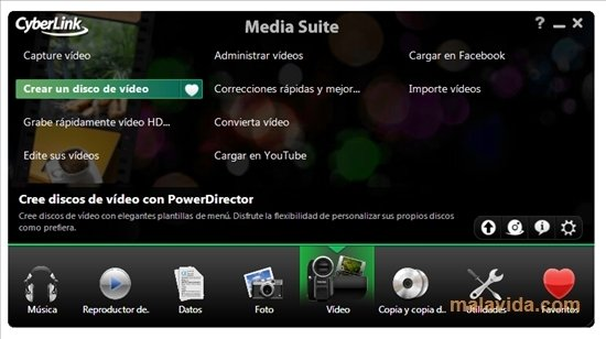 Cyberlink media suite v10