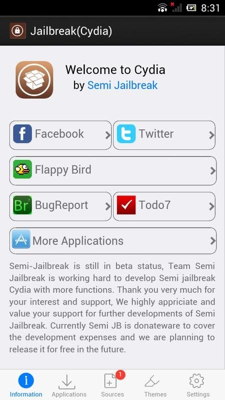 Cydia 1 01 - Download for Android APK Free