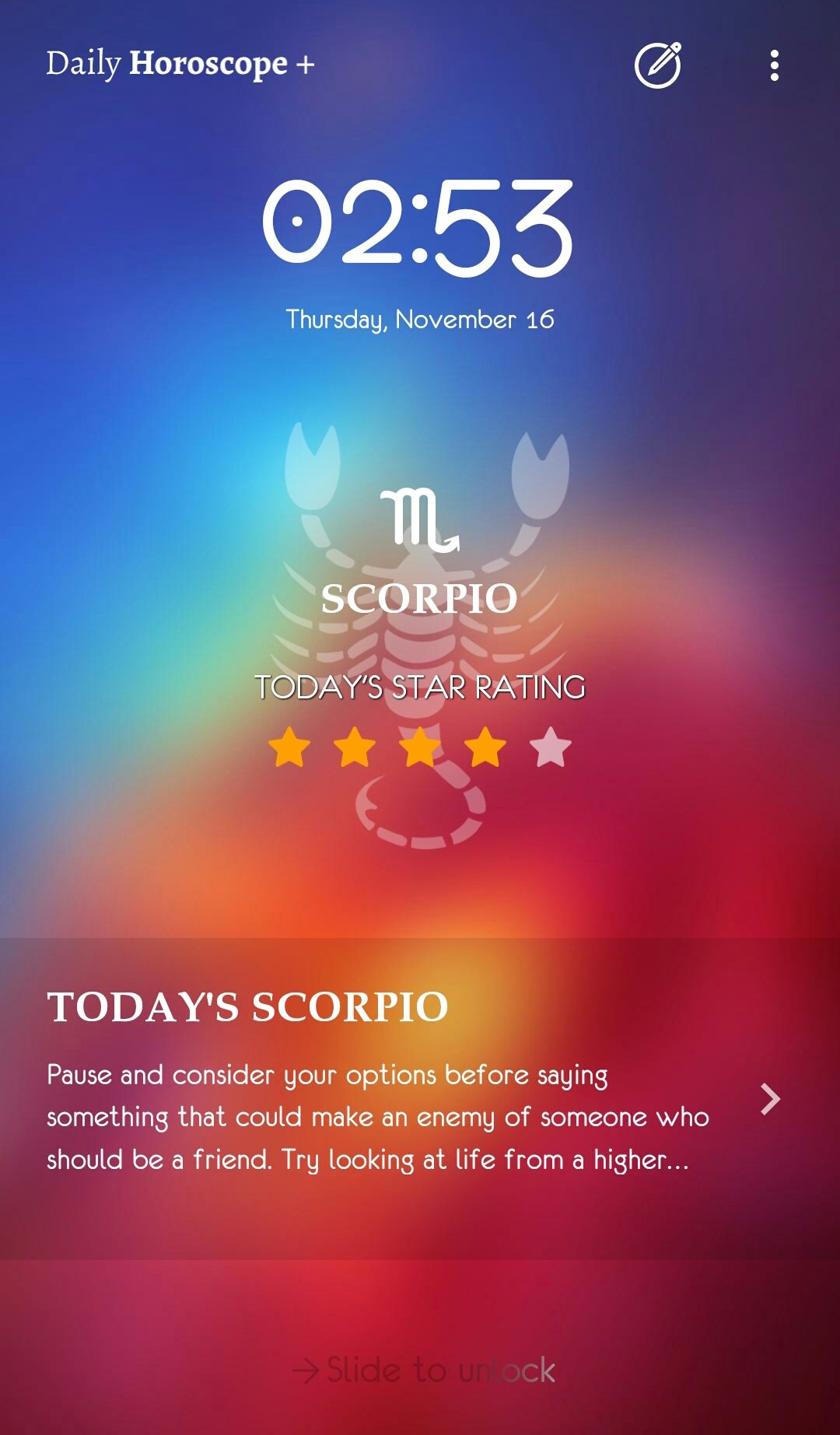 Daily Horoscope Plus 2018 1 4 10 - Download for Android APK Free