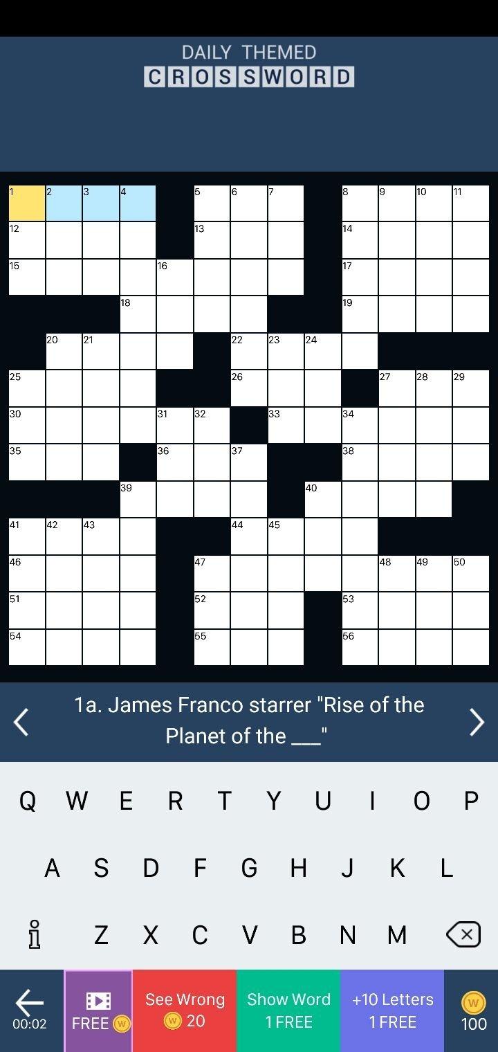 Daily Themed Crossword 1.354.0 - Descargar para Android ...