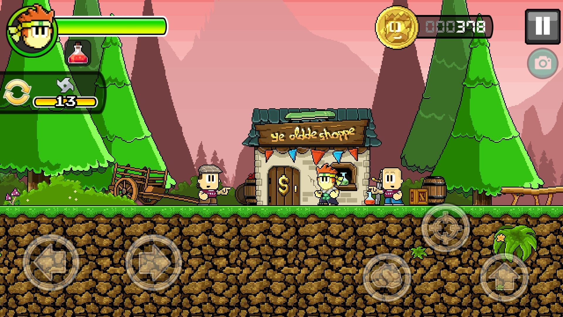 Dan the Man: Action Platformer 1.8.21 - Descargar para